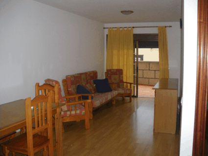 Candelaria 400€, 1 dorm. terraza 25m. piscina, garaje, suelos de parquet