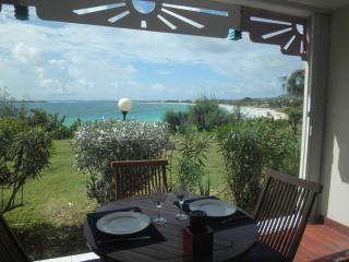 Estudio : 3/4 personas - piscina - junto al mar - vistas a mar - orient beach  san martin (francia)  san martin