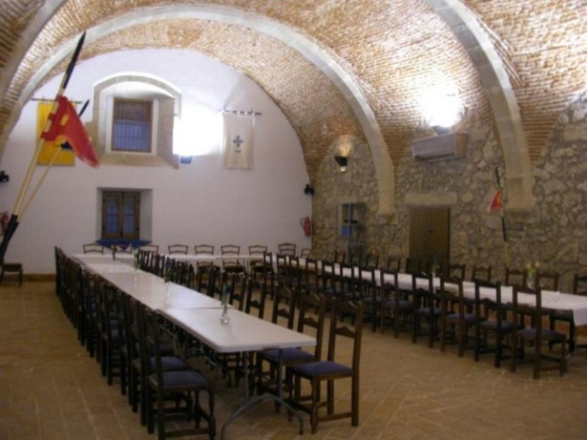 Alquiler restaurante - bar en un edificio del S.XV