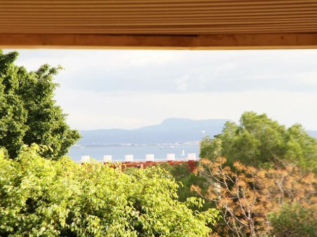 Preciosa planta baja con vistas en Cas Català