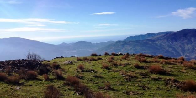 Bonita finca en La Alpujarra Lanjaron con cortijo, agua y acceso