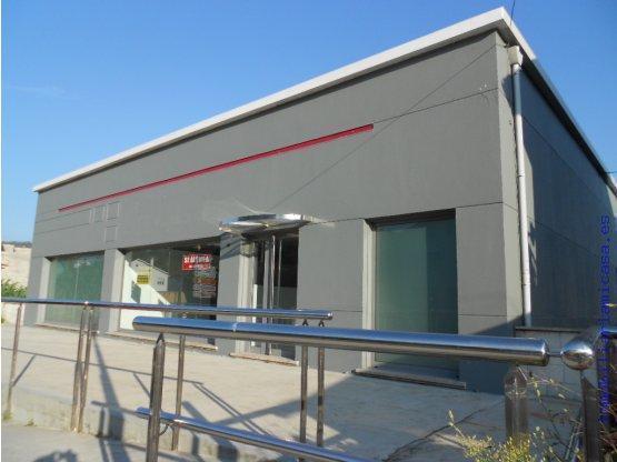 Edificio comercial alquiler